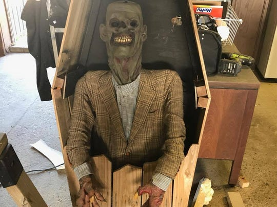 There will be plenty of spooky props at the Haunted Sawmill when it returns for one weekend in August and for the month of October.
