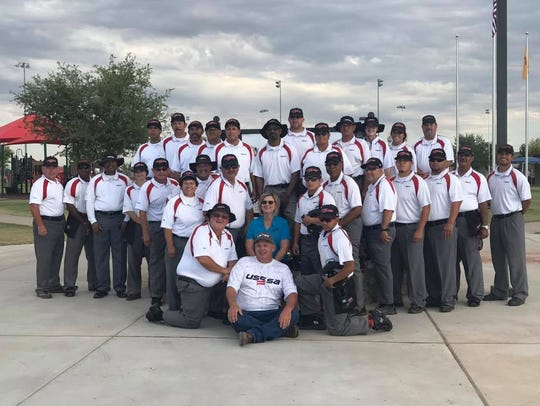 Over 36 umpires were on hand for the New Mexico/West