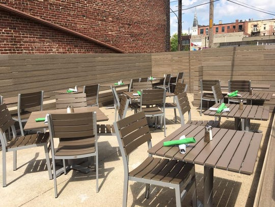 Pure Eatery has two outdoor dining options, a patio