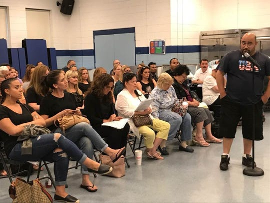 Prospect Park resident and founder of the borough Special Education Parent Advisory Committee William Martinez urged the board to reconsider letting go speech-language pathologist Connie Centrella.