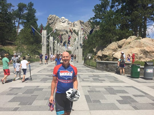 Former Gov. Jack Markell's bike trip across the country