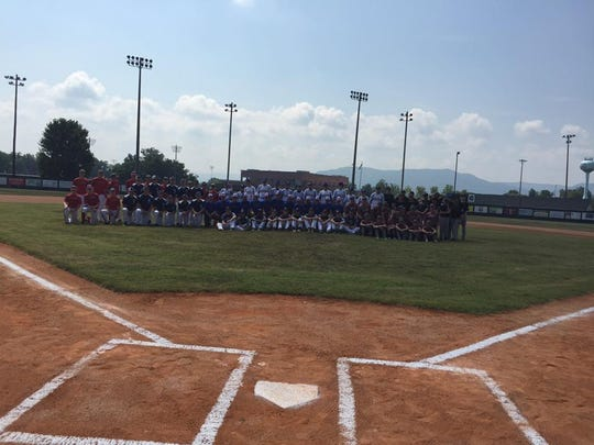 Photo of Stewart County baseball team from the state