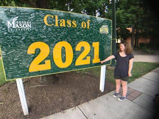 AnnCatherine Heigl visits George Mason University during