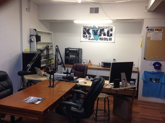 KYAC radio station in Mill City has been awarded a grant for a new tower and transmitter, to be completed in time for increased traffic during the eclipse.