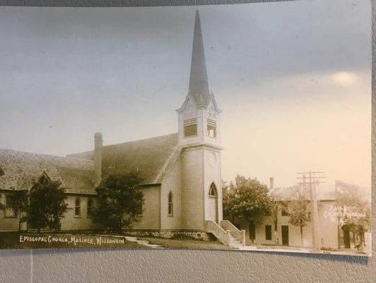 Pictured is St. James' original Main Street, Mosinee,