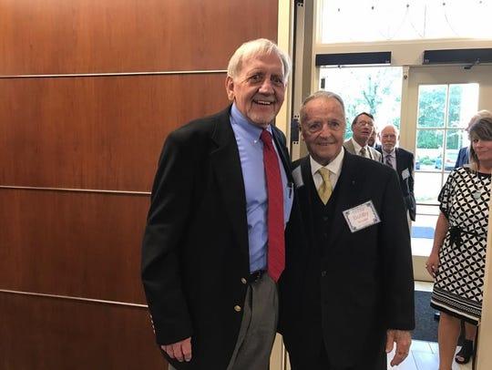 Wally Burnham and Bobby Bowden.