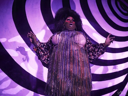 Trell Jackson-Clark as Delicious performing at Spiral