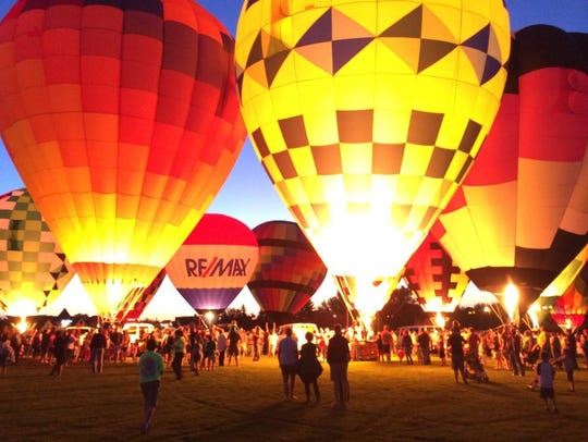 As part of the festivities at the Greater Lansing Balloon