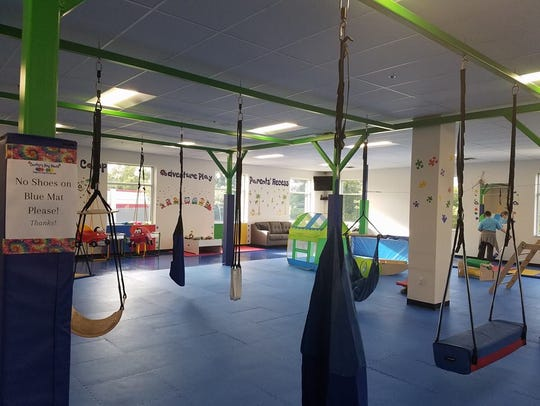 Inside Carter's Play Place in Westfield, Ind.