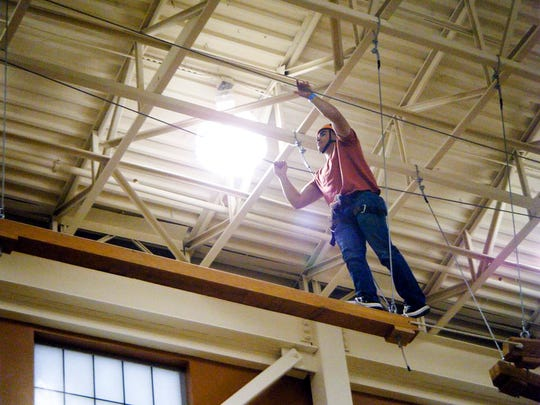The Soldier Activity Center will host a Challenge Course Day on its high-ropes course on Sept. 30.