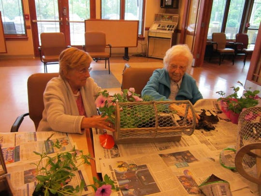 Three years ago this month the Horticultural Therapy program at the Adult Day Center (ADC) of Somerset County in Bridgewater was introduced.
