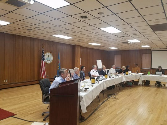 The Rehoboth Beach commission met on Sept. 6 to discuss