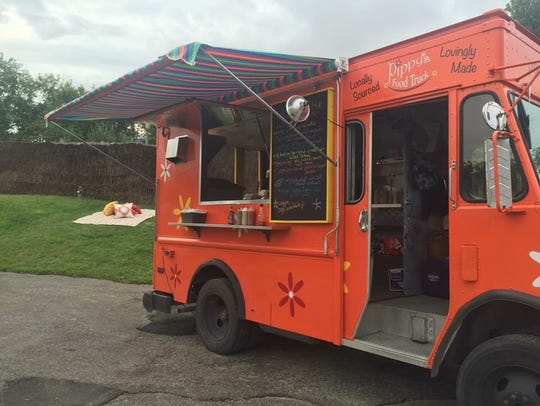 Pippy's flower power truck sets up shop across the