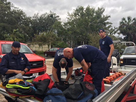 Nashville Fire Department assists with Hurricane Irma