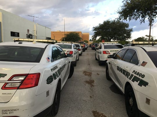 Deputies from Pasco and Hernando prepare to head to Collier County to assist the law enforcement and other first responders there.