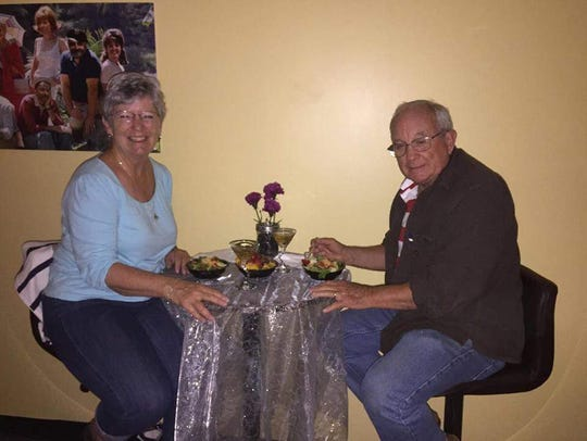 Ditsie and Bob Scobie celebrate their 51st anniversary