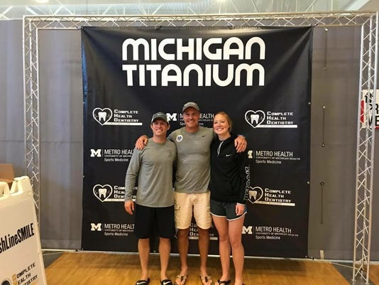 Marysville trio completes Michigan Titanium