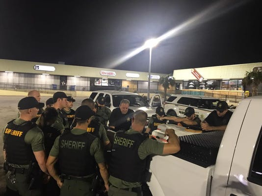 Martin County Sheriff's officials help in Florida Keys