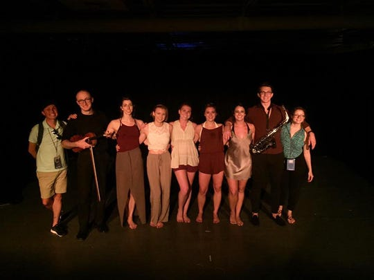 The professional troupe which performed 'Let Go' at the Orlando Fringe Festival May 2017.