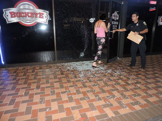 Police investigate fight and shooting at Buckeye Sports Pub