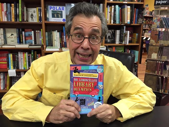 Author Chris Grabenstein visited Oblong Rhinebeck last year for a special event.