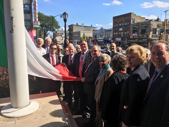The Union County Board of Chosen Freeholders recently celebrated the ninth annual Union County-UNICO District X Columbus Day flag-raising event at the Union County Courthouse in Elizabeth.