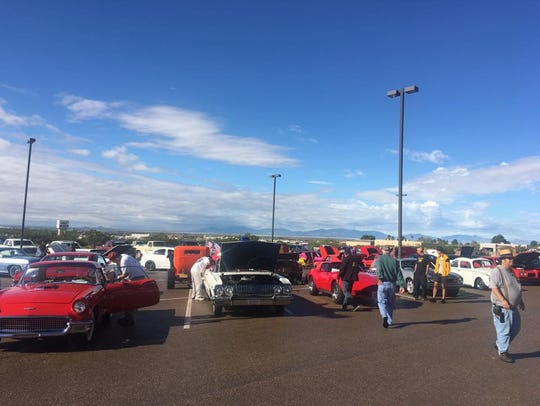 About 70 cars participated in the Christ Community