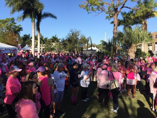 Last year's Making Strides Against Breast Cancer of