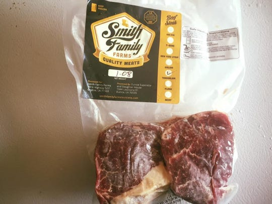 Packaged meats are available for purchase from Smith Family Farms.