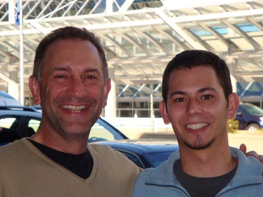 Gary Mendell, shown in this file photo with his son Brian, who died as a direct result of his addiction to drugs, in 2011.