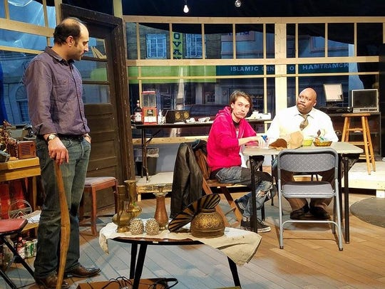 "Jewish Ensemble Theatre's production of ""American Buffalo"""