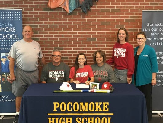 Peyton Becker will continue her playing career at Indiana