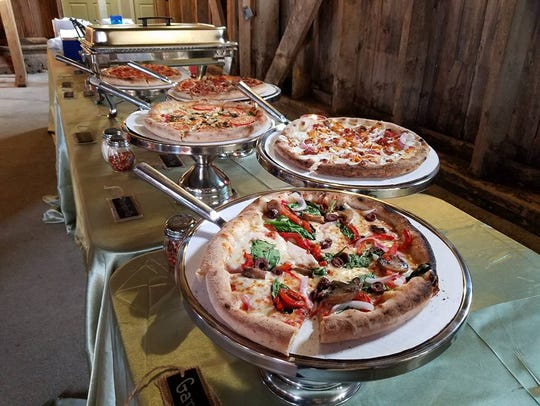 Rollin Stone Wood Fired Pizza serves up a selection
