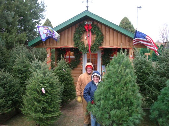 Smiling John's Christmas Trees is located at W3750 Center Road in Merrill.