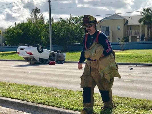 Crash in Port St. Lucie closes portion of U.S. 1