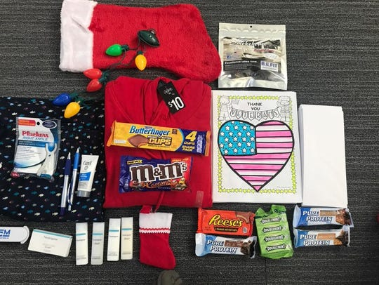 A look at some of the treats service members of the