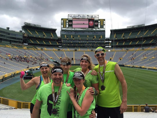 The Spartan Sprint returned to Wisconsin in 2017 -