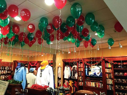 Underwood Golf Complex will have a Balloon Sale on Saturday at its Pro Shop.