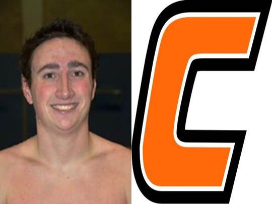 Waverly graduate Mike Girolamo, a swimmer, was named