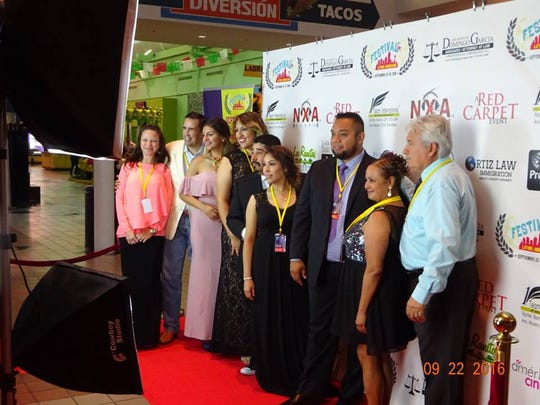 A group picture of the FDCLA committee at their previous Latin American film festival.
