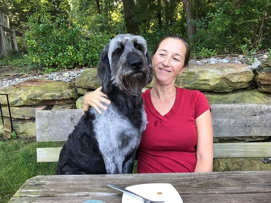 Ozzy, the service dog, has been missing since Oct 8.