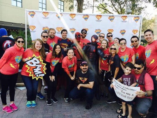 321Millennials at the Superheroes 5K in Viera earlier