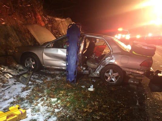 Taconic State Parkway crash in Yorktown