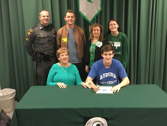 Phil Gianelle plans to play lacrosse at Aurora University