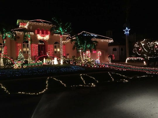 Residents Scott and Maria Schilke of 865 Swan Dr. are the winners of the 2017, 21st Annual House Decorating Contest.
