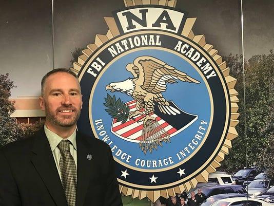 Hoiberg graduates from FBI National Academy Session PHOTO CAPTION