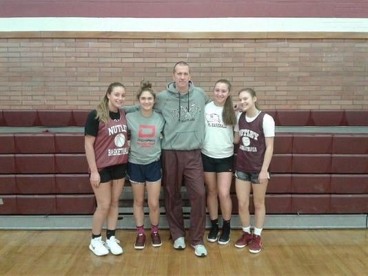 Nutley girls basketball