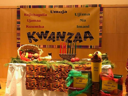The Montclair Public Library celebrates Kwanzaa during