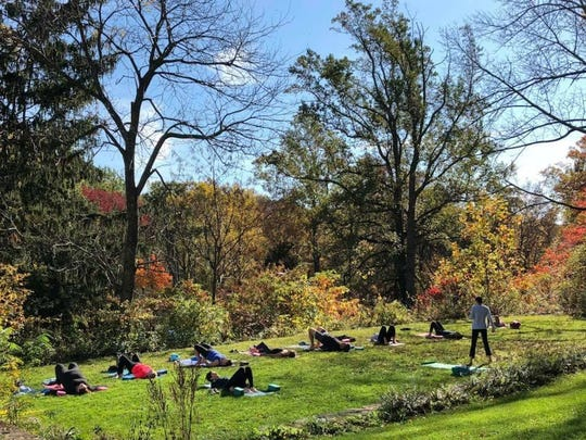 It's a nature-infused yoga class, a one-of-a-kind program developed by New Jersey Audubon and taught by Kristin Mylecraine, Ph.D., a senior research scientist who happens to be a certified yoga instructor.