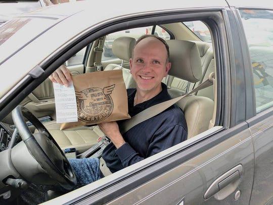 Ken Billeter has surpassed 20,000 deliveries for Indianapolis food delivery startup ClusterTruck.
